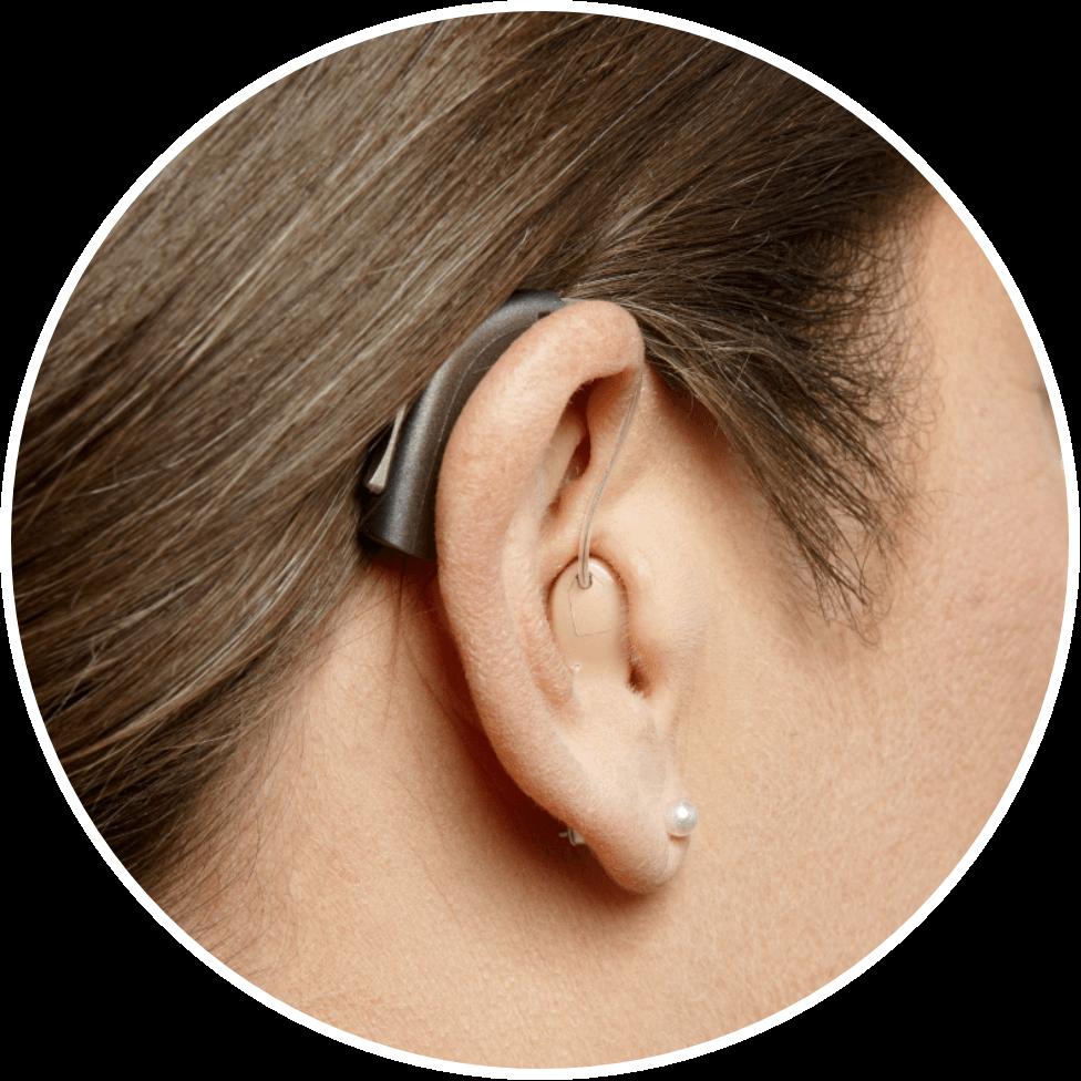 Hörgeräte Hinter dem Ohr