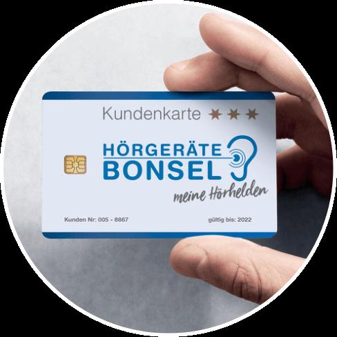 Bonsel Kundenkarte Plus